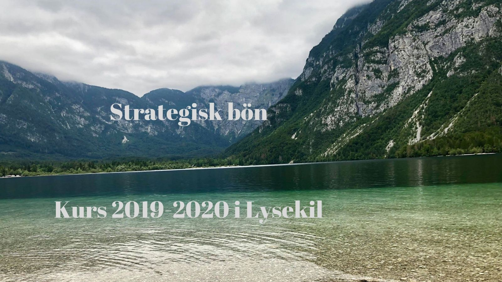 Strategisk bön Kurs Hemsida